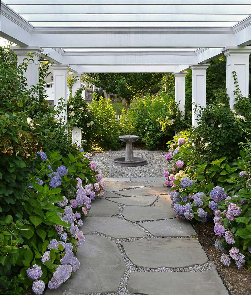 Intimate garden design service for Garden design service