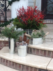 winter container garden