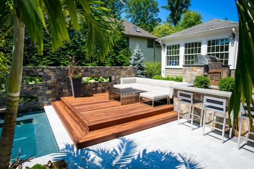 Modern outdoor living trends today for Contemporary outdoor living spaces