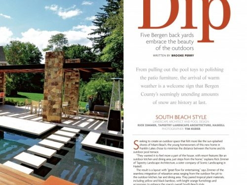 Pool Architecture publication feature