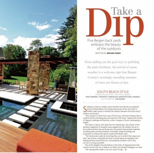 Pool Architecture Showcased in 201 Home Article