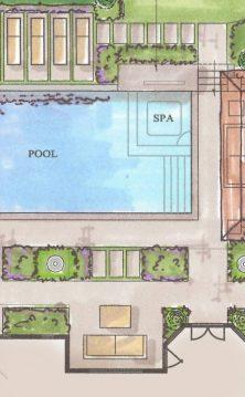 landscape design plan sketch