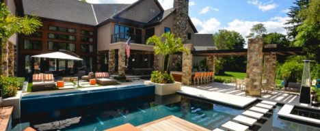 landscape architecture and pool design projects